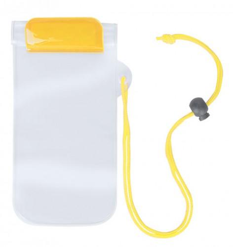 Waterpro voděodolný obal na mobil Žlutá