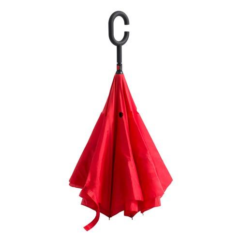 Hamfrek oboustranný deštník Červená