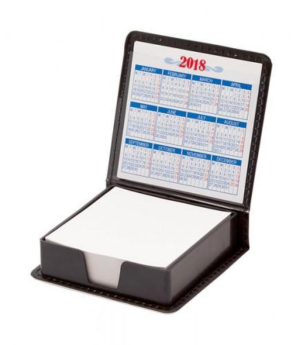 Calendario blok Černá
