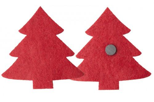 Orfi magnet na lednici Červená