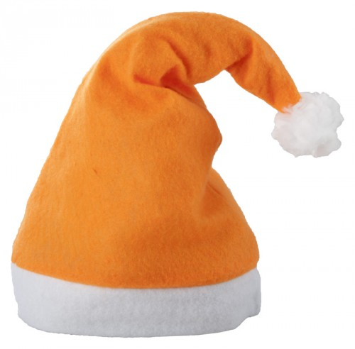 Papa Noel Santa Klausovská čepice Oranžová