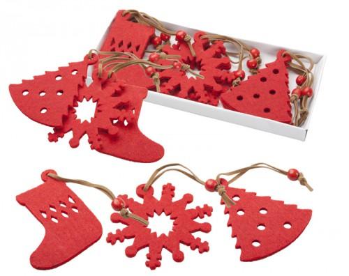 Sensi vánoční ministromek Červená