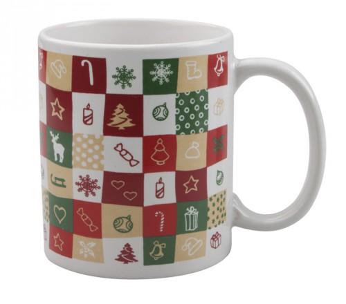 Mosaix vánoční hrnek