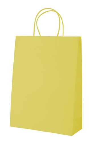 Store papírová taška Žlutá