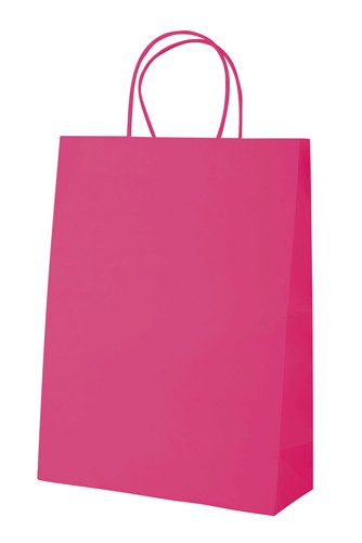 Mall papírová taška Růžová