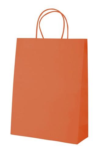 Mall papírová taška Oranžová