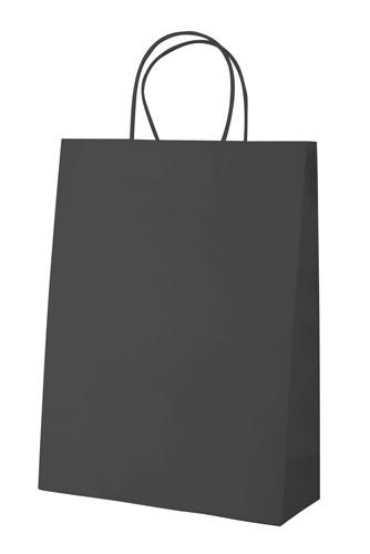 Mall papírová taška Černá
