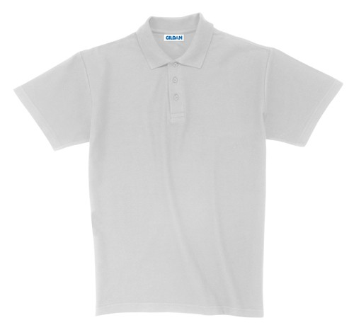 Ultra Cotton polokošile pique Bílá