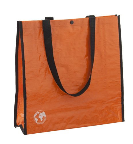 Recycle nákupní taška z recyklovaného materiálu Oranžová