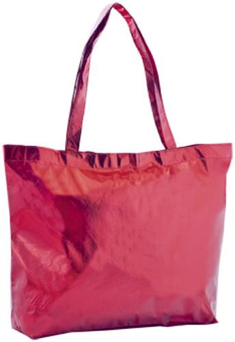 Splentor plážová taška Červená