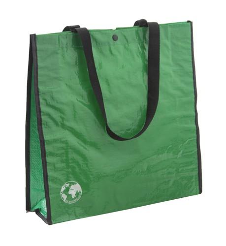 Recycle nákupní taška z recyklovaného materiálu Zelená