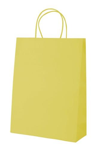 Mall papírová taška Žlutá