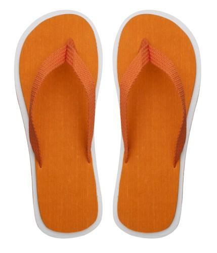 Cayman plážové pantofle Oranžová