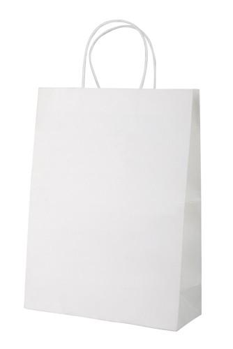 Mall papírová taška Bílá