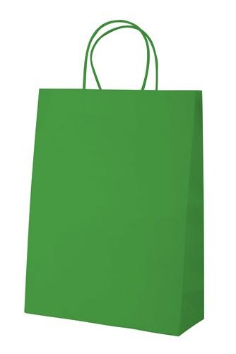 Mall papírová taška Zelená