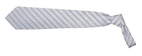 Lanes kravata Bílá