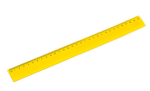 Flexor pravítko Žlutá
