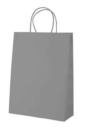 Mall papírová taška Šedá