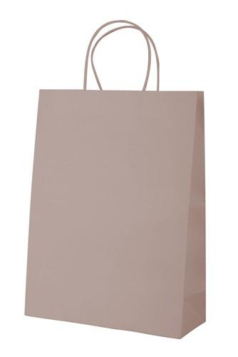 Mall papírová taška Hnědá