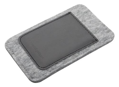 Distingue Plstěné pouzdro na iPhone® 5, 5S s kapsou z PU kůže. Značkový produkt André Philippe.