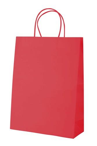 Mall papírová taška Červená