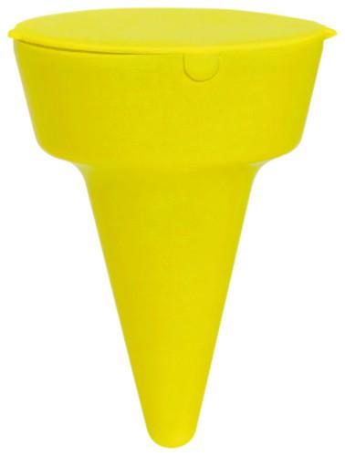 Cleansand popelník na pláž Žlutá