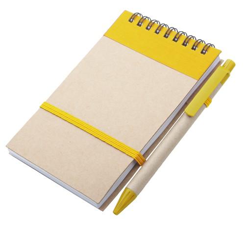 Ecocard blok Žlutá