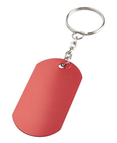 Nevek přívěšek na klíče Červená