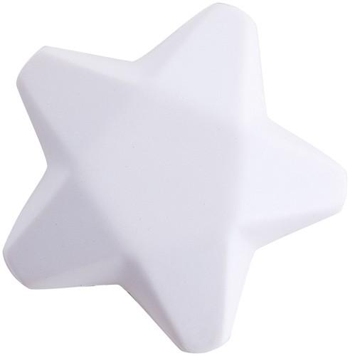 Ease antistresová hvězda Bílá