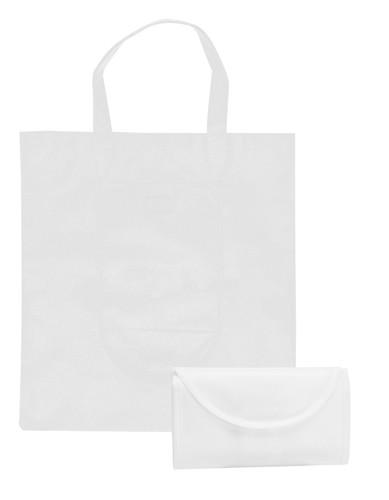 Konsum skládací nákupní taška Bílá