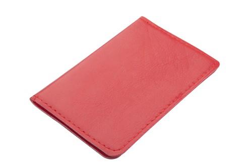 Twelve pouzdro na karty Červená