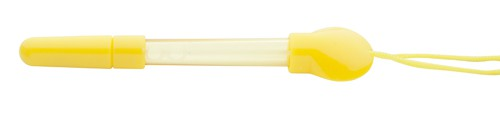 Pump propiska s bublifukem Žlutá