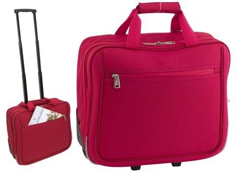 Cubic taška na kolečkách Červená