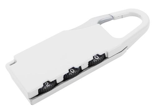 Zanex zámek na zavazadlo Bílá