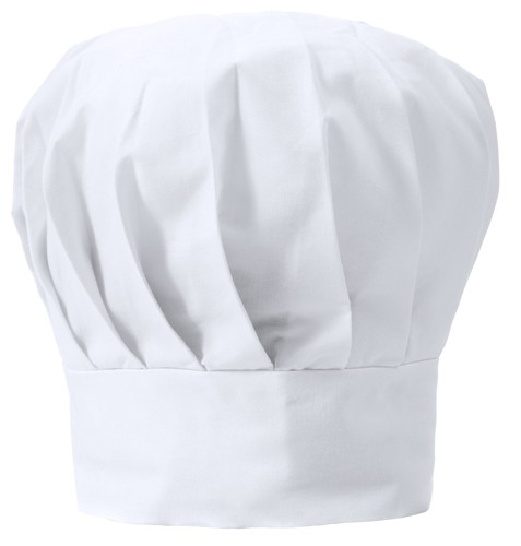 Nilson kuchařská čepice Bílá