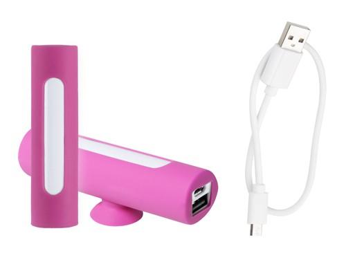 Khatim USB power banka Růžová