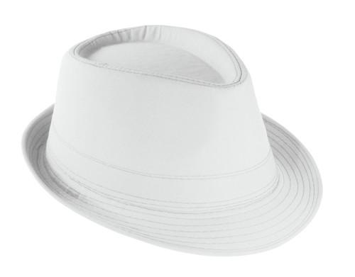 Likos klobouk Bílá