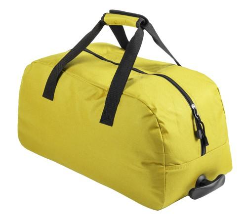 Bertox sportovní taška na kolečkách Žlutá