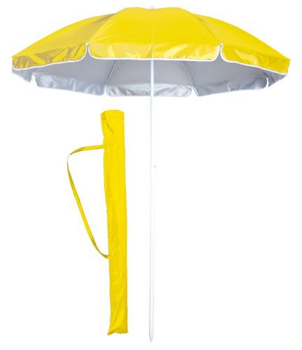 Taner plážový deštník Žlutá
