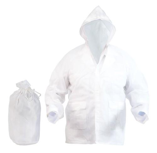 Hydrus pláštěnka Bílá