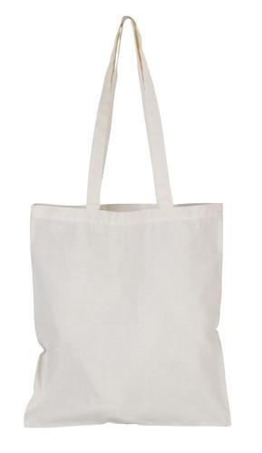 Longish bavlněná nákupní taška Natur
