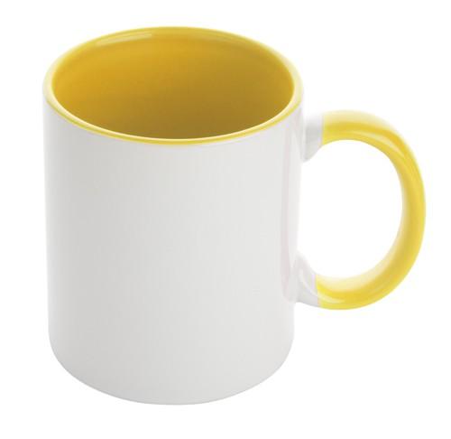 Harnet hrnek na sublimaci Žlutá