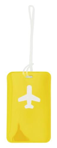 Raner Jmenovka na zavazadlo Žlutá