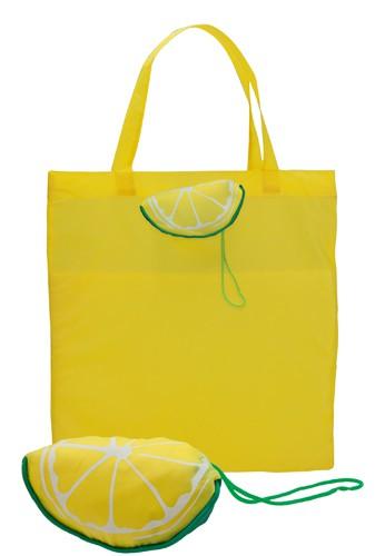 Velia nákupní taška citron
