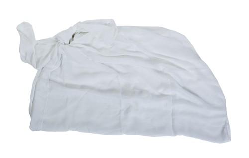 Duma plážový šátek Bílá