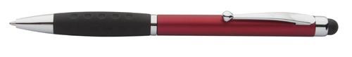 Stilos dotykové kuličkové pero Červená