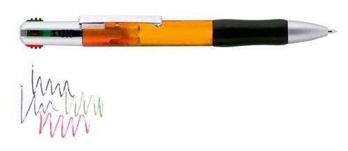 4 Colour kuličkové pero Oranžová