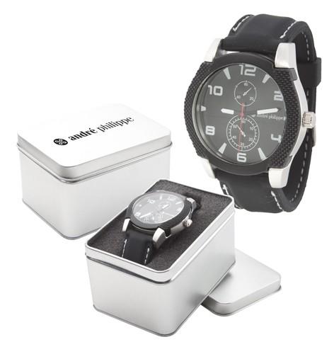 Marquant pánské hodinky Černá