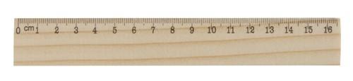 OneSix dřevěné pravítko