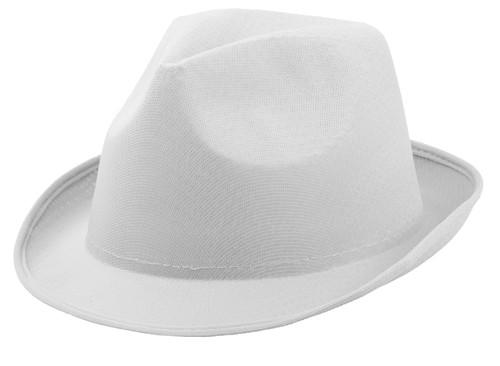 Braz klobouk Bílá